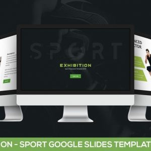 Exhibition - Sport Google Slides Template