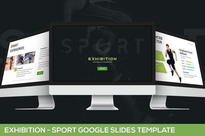 Exhibition - Sport Google Slides Template