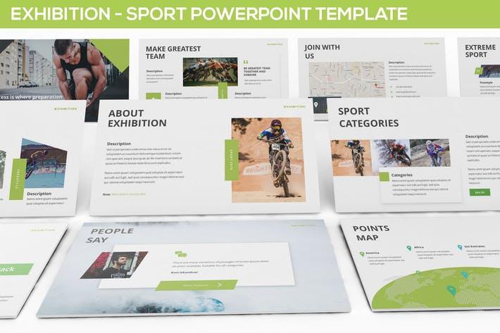 Exhibition - Sport Powerpoint Template