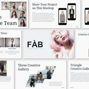 FAB - Google Slides Template