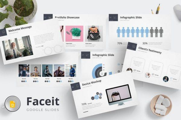 Faceit - Google Slides Template