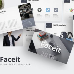 Faceit - Powerpoint Template