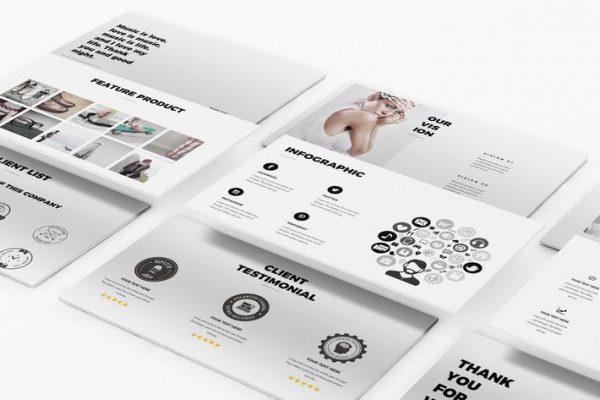 Fashion Google Slides Template