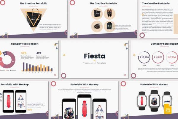 Fiesta - Google Slides Template