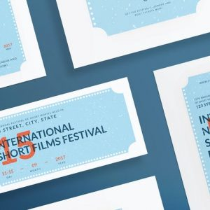 Film Festival Flyer and Poster Template
