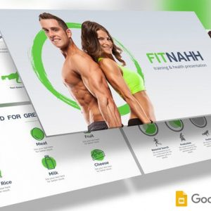 Fitnahh - Google Slides Template