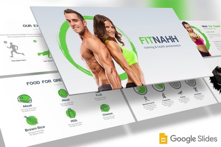 Fitnahh - Google Slides Template