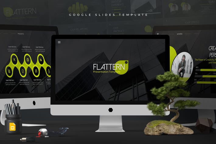 Flattern - Google Slides Template