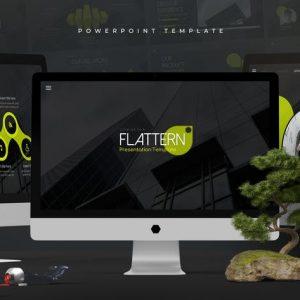 Flattern - Powerpoint Template