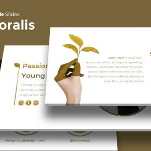 Floralist - Google Slides Template