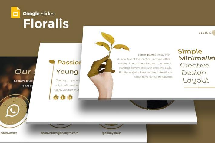Floralist - Google Slides Template