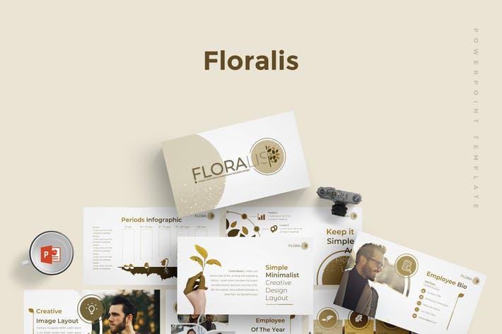 Floralist - Powerpoint Template