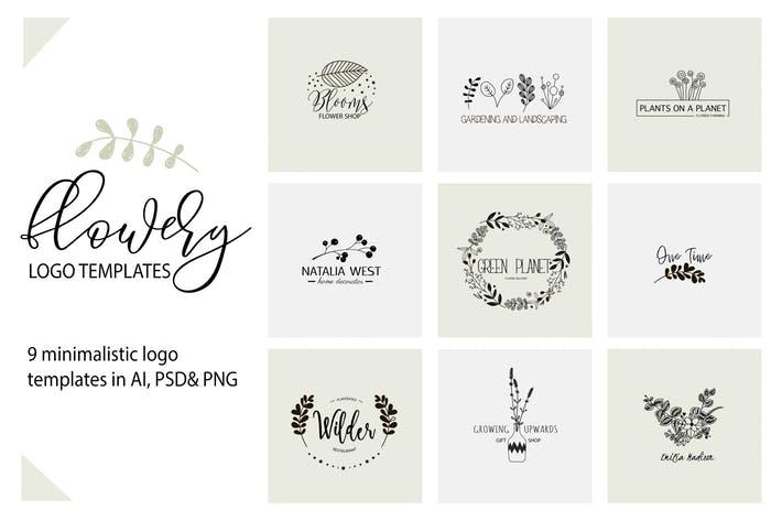 Flower Logo Templates V.1