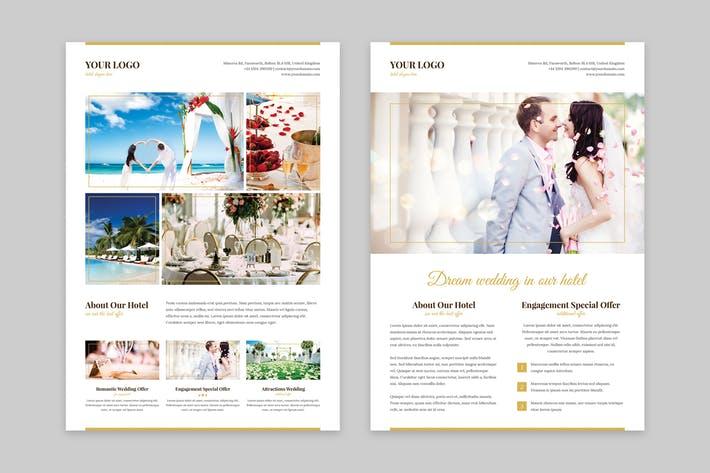 Flyer – Hotel for Wedding