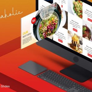 Foodaholic - Google Slides Template