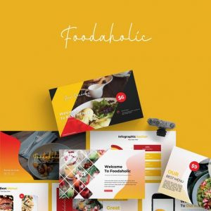 Foodaholic - Powerpoint Template