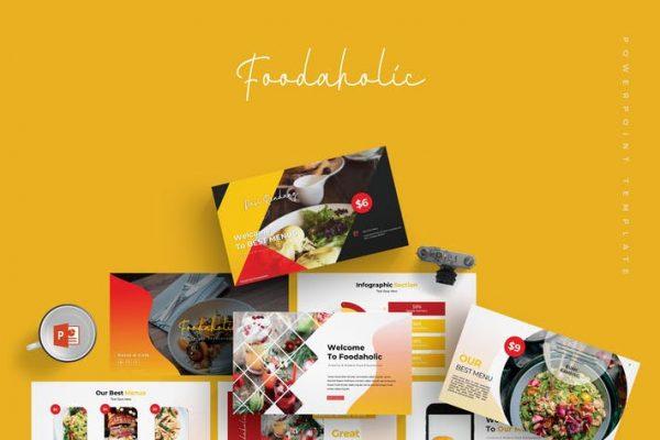 Foodaholic - Powerpoint Template