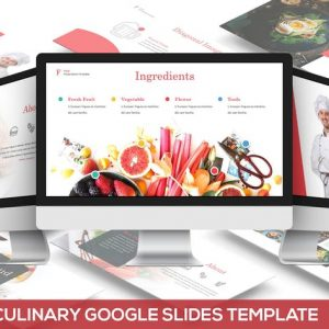 Fuud - Culinary Google Slides Template