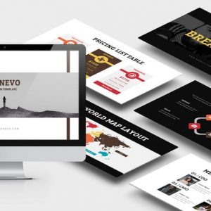 Ganevo : Creative Studio Powerpoint Template