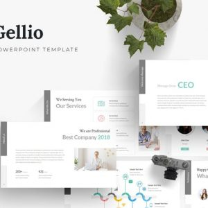 Gellio - Powerpoint Template