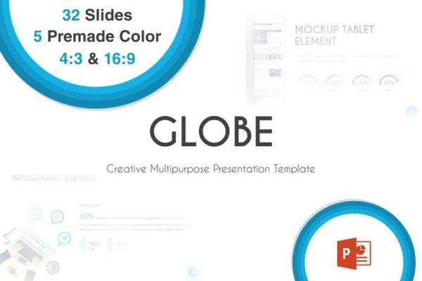 Globe - Powerpoint Template