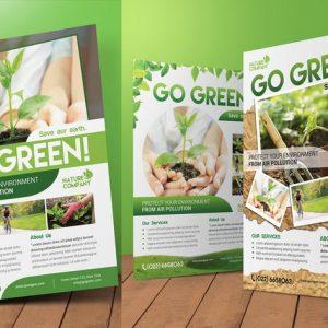 Go Green Flyer / Magazine Ad