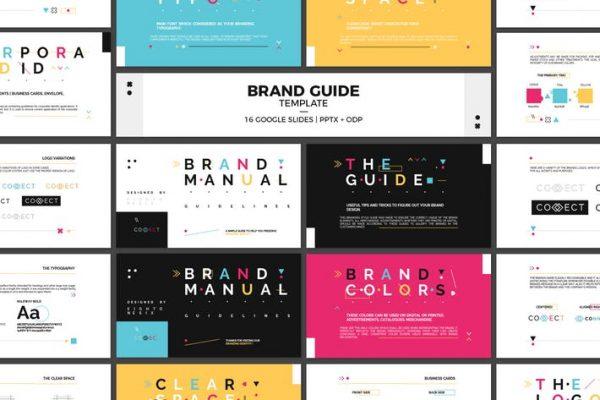 Google Slides Brand Guidelines Template