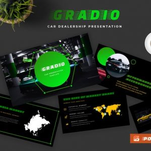 Gradio Car Dealership Powerpoint Presentation