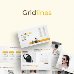 Gridlines - Google Slide Template