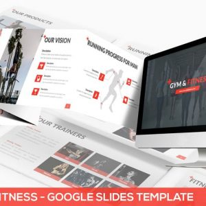 Gym & Fitness - Google Slides Template