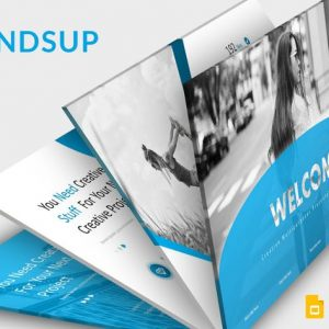 Handsup - Google Slides Template