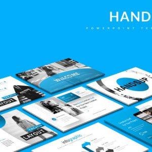 Handsup - Powerpoint Template