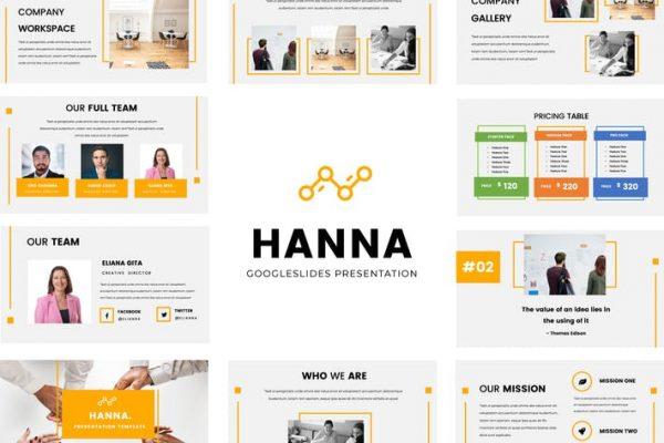 Hanna Google Slides Presentation