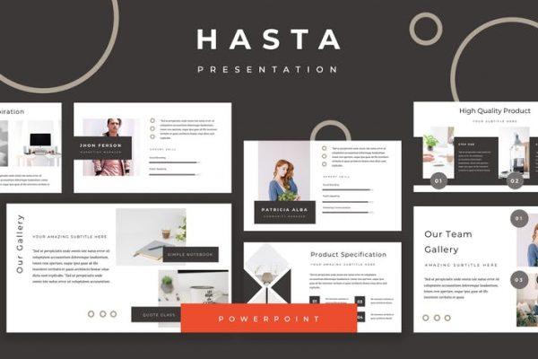 Hasta Powerpoint Presentation
