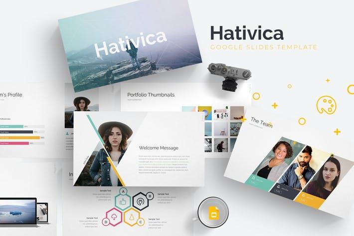 Hativica - Google Slides Template
