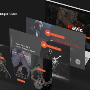 Havic - Google Slides Template