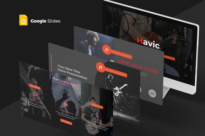 Havic - Google Slides Template