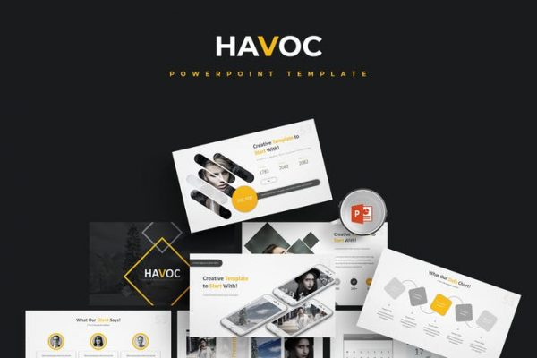 Havoc - Powerpoint Template