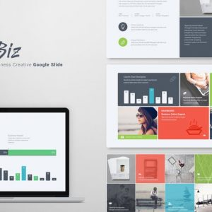 HiBiz Google Slide Template