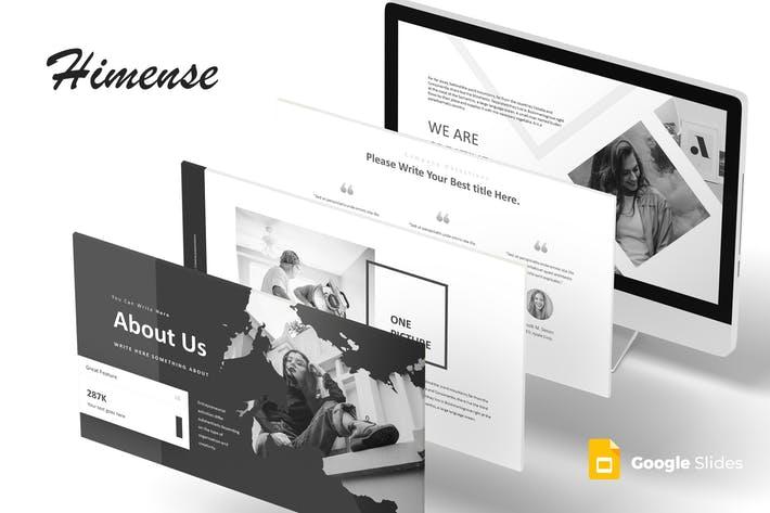 Himense - Google Slides Template