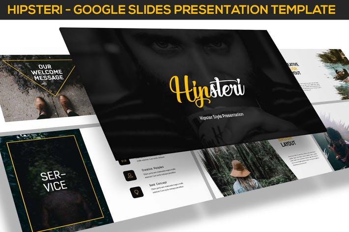 Hipsteri - Hipster Style Google Slides
