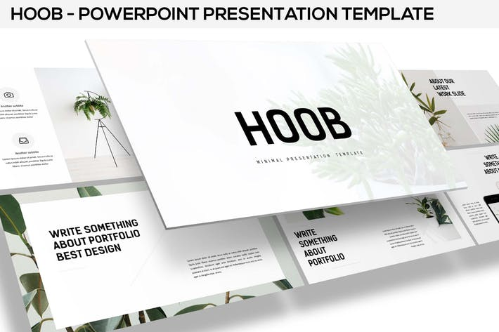 Hoob - Powerpoint Template