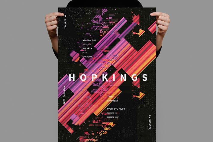 Hopkings Poster / Flyer