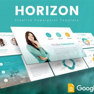 Horizon Google Slides Template