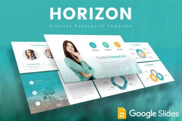 Horizon Google Slides Template