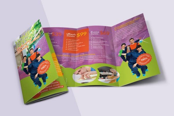 House Cleaning Tri-fold Brochure