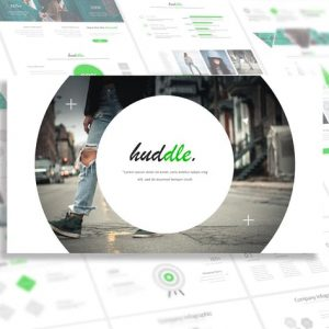 Huddle - Powerpoint Template