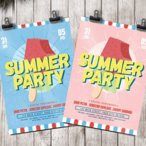 Ice Summer Flyer