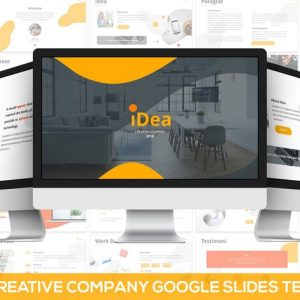 iDea - Creative Company Google Slides Template