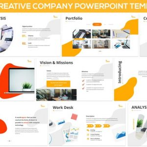 iDea - Creative Company Powerpoint Template